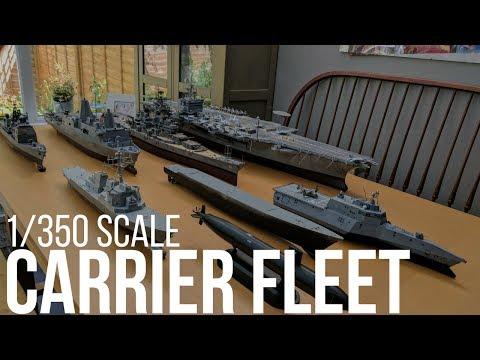 1/350 Carrier Strike Group Fleet USS Enterprise CVN-65