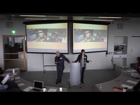 """The Sensing of the Urban Screen"" w/ Prof Drucker and Prof Gumpert"