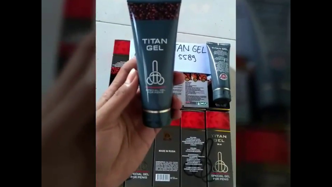 titan gel gold asli rusia 082136855589 youtube