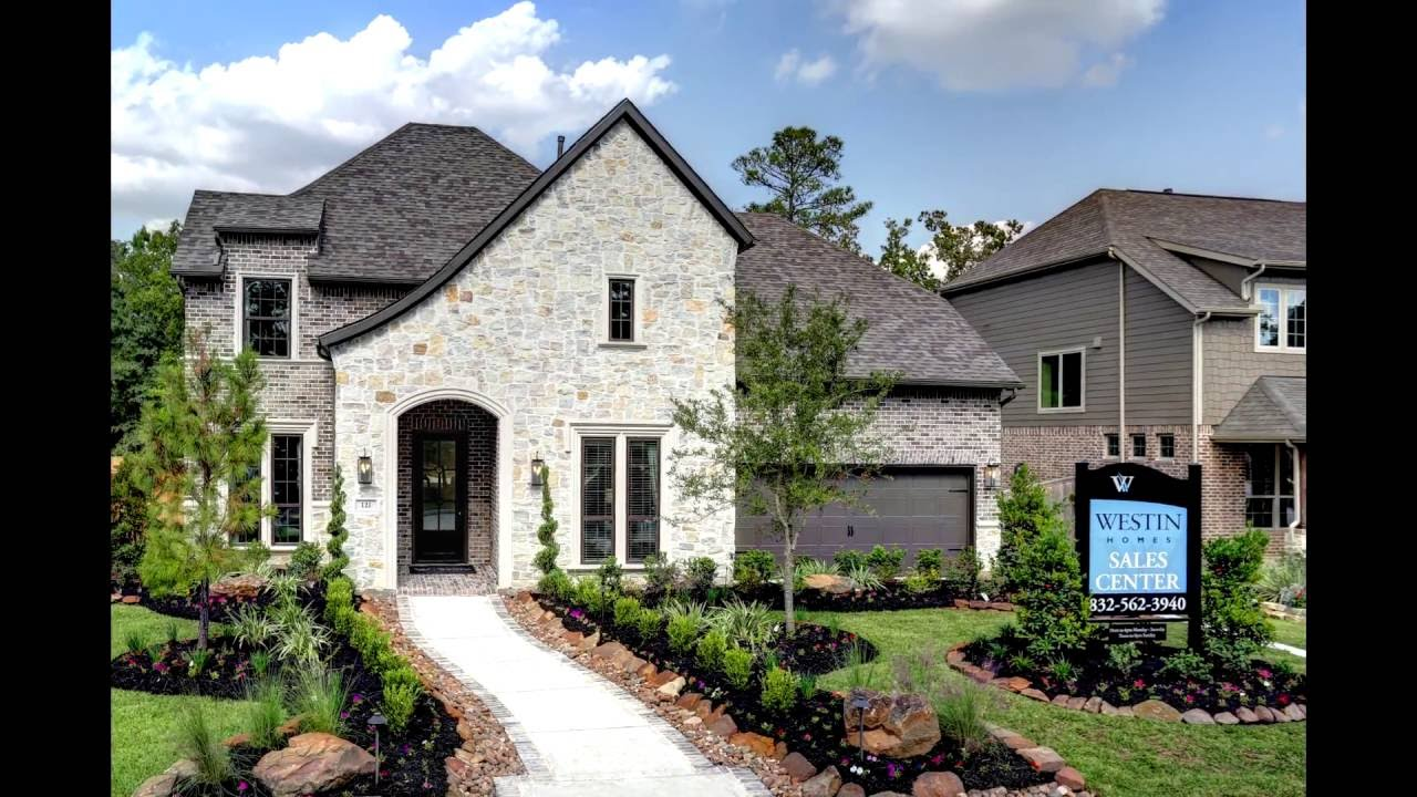 N Home Elevation Photos : The bellagio elevation k westin homes model home youtube