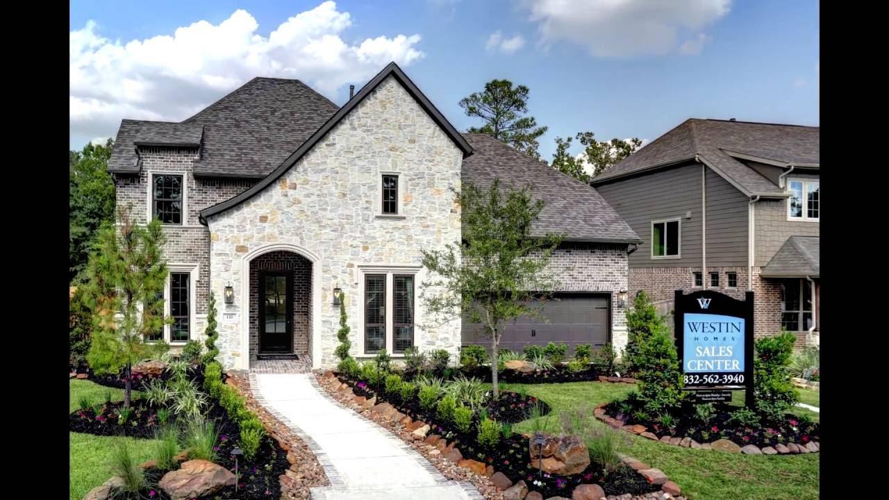 N Home Elevation U : The bellagio elevation k westin homes model home youtube