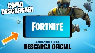 ¡¡ DESCARGAR PASO A PASO FORTNITE para ANDROID !! (Beta Oficial)