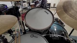 Mic and Yamaha EAD setup with new mic clips