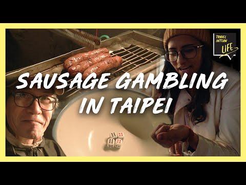 Intern Tries Sausage Gambling — Taipei, Taiwan | The Travel Intern