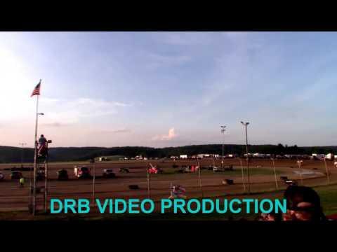 Marion Center Speedway 6/17/17 Mirco Sprints Heat