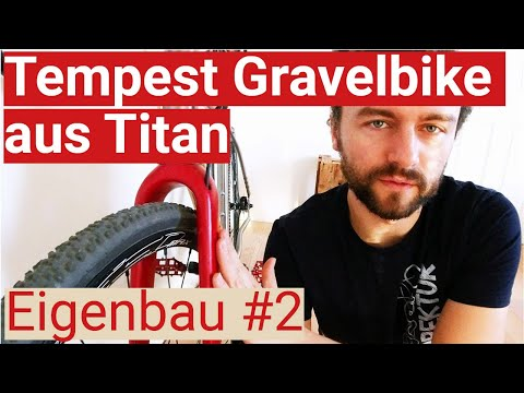 framekit-titan-gravelbike-tempest:-carbongabel-lackieren,-kette-kürzen-und-wiegen
