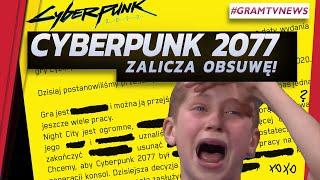 Cyberpunk 2077 opóźniony o 5 miesięcy | Epic będzie rozdawać gry przez kolejny rok - GramTV NEWS