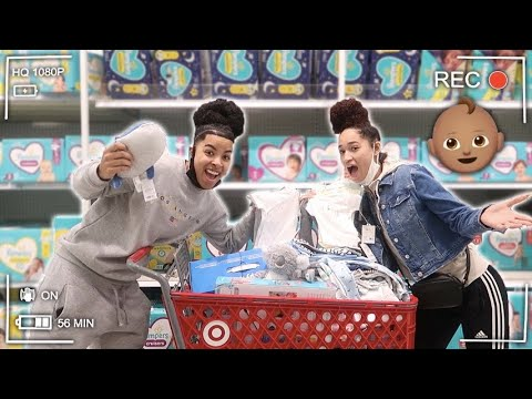 WE WENT BABY SHOPPING FOR THE FIRST TIME!! *WE ARE READY *