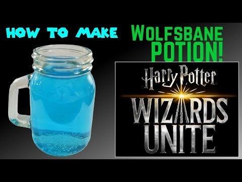 Wolfsbane Potion From Harry Potter Alcoholic How To Make Youtube