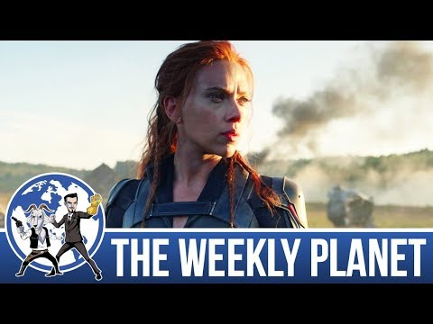 The Black Widow Trailer - The Weekly Planet Podcast
