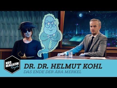 Dr. Dr. Helmut Kohl: Das Ende der Ära Merkel   NEO MAGAZIN ROYALE mit Jan Böhmermann - ZDFneo