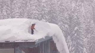 Extreme weather 2019 - Snow and blizzards (Europe) - BBC News - 8th January 2019