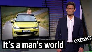 Die Welt ist auf Männer ausgerichtet | extra 3 | NDR