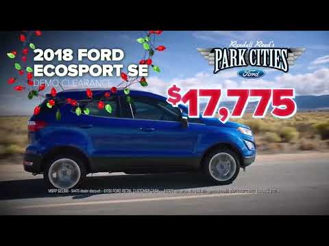New 2018 Ford EcoSport Year End Savings Special | Ford Dealer in Dallas, TX