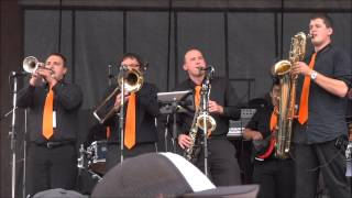 The New Groovement at JazzFest 2013: Seven Nation Army (The White Stripes cover)