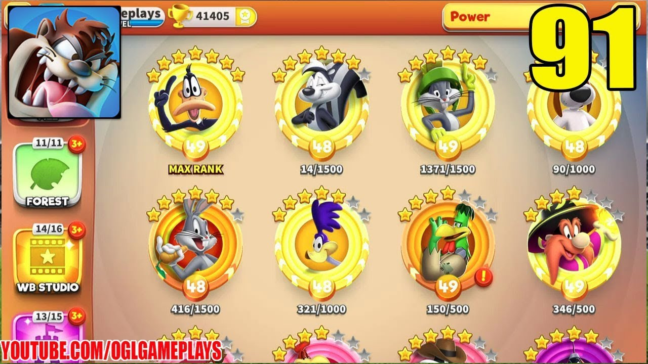 looney tunes world of mayhem best characters