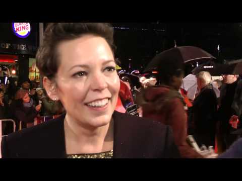 Olivia Colman Interview - Cuban Fury World Premiere