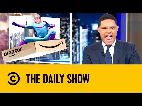 Is Jeff Bezos New York's New Super Villain? | The Daily Show With Trevor Noah