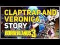 Claptrap and Veronica story Borderlands 3