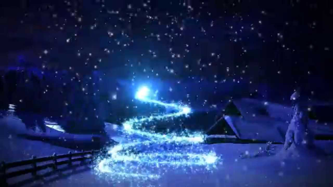 Christmas Magic Snowy Christmas Animation YouTube