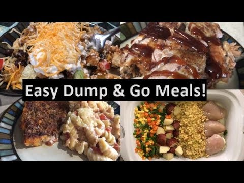 EASY Dump & Go Crockpot Meals On A Budget! Whats For Dinner?