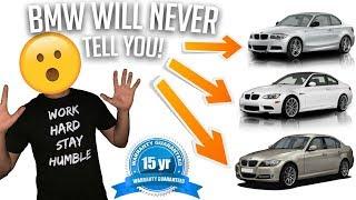 ALL N51 BMWS COME WITH A 15 YEAR 150K MILE WARRANTY! (E90,E91,E92,E93)