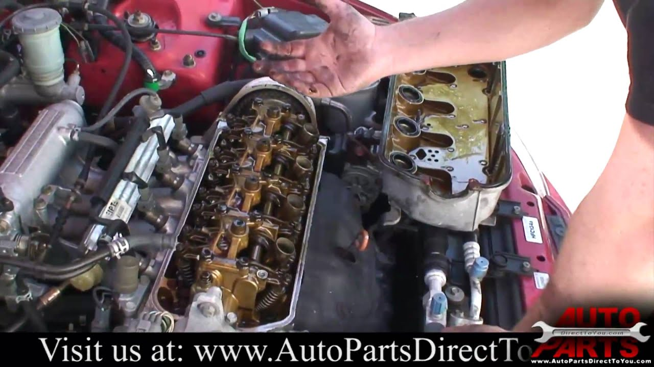 Captivating 1994 Honda Civic Part 1: Valve Cover Gasket   YouTube