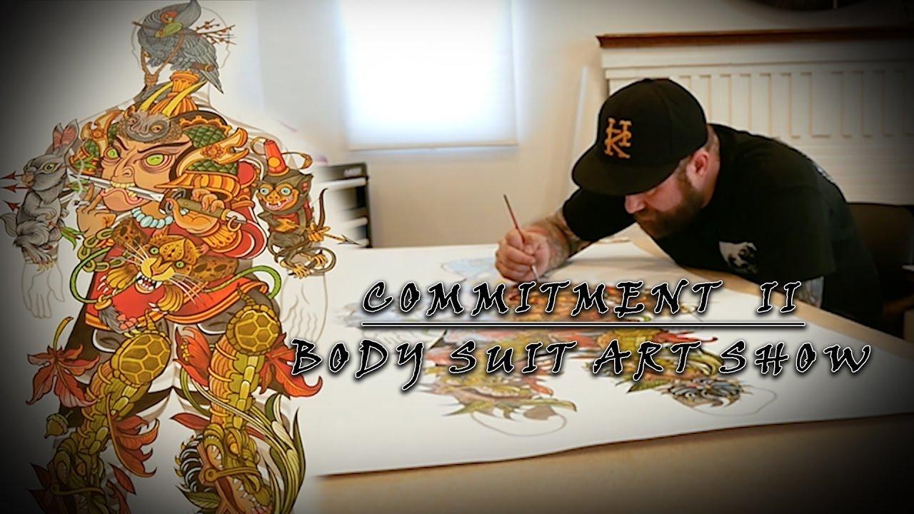 Guru Tattoo Body Suit Art Show | Commitment II - Part 4 - YouTube