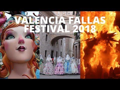 Fallas Festival 2018  - Valencia (ENGLISH Version)