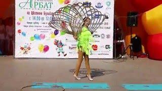 Тюменский Арбат - Жар-птица - Летний танец с обручем