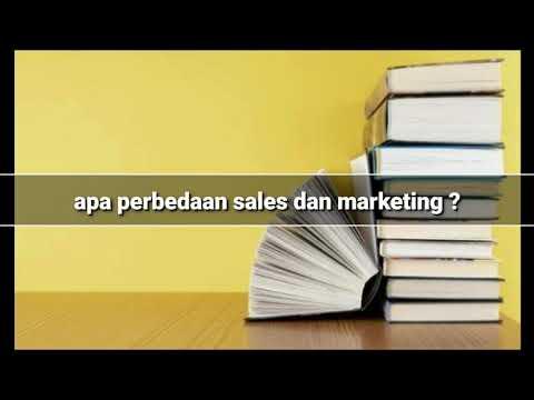 Ternyata sales dan marketing itu beda ya??!!