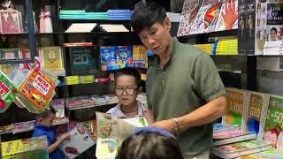 Lạc trôi vào Đường Sách Nguyễn Văn Bình cùng Gia đình Lý Hải Minh Hà