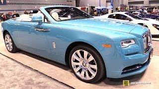 2016 Rolls Royce Dawn - Exterior and Interior - Walkaround  2016 Chicago Auto Show