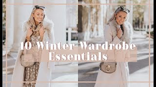 10 WINTER WARDROBE ESSENTIALS // Fashion Mumblr