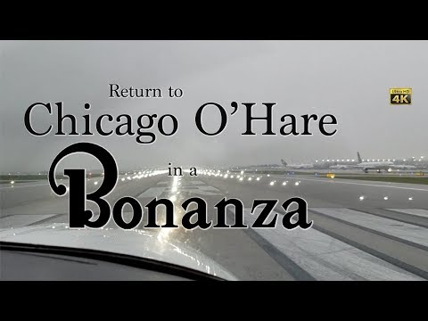 Return to O'Hare in a Bonanza