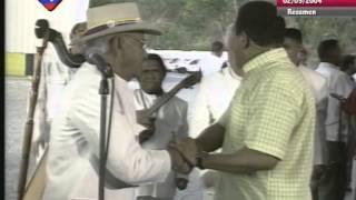 Chávez canta con Eneas Perdomo, Valentín Carucí y Los Cop...