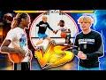 Hooper VS Rapper 1v1 Basketball (Gone Wrong)