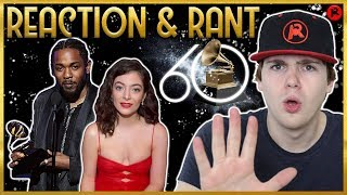 REACTING TO THE 2018 GRAMMY AWARDS