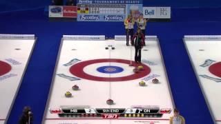 2013 Scotties Tournament Of Hearts - Gold Meda Final - Jones (MB) vs. Homan (ON)
