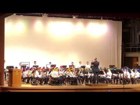 2018 Hawaii OBDA Middle School Select Band