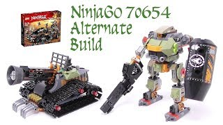 LEGO - NinjaGo 70654 Alternate Build (Stop Motion Build)