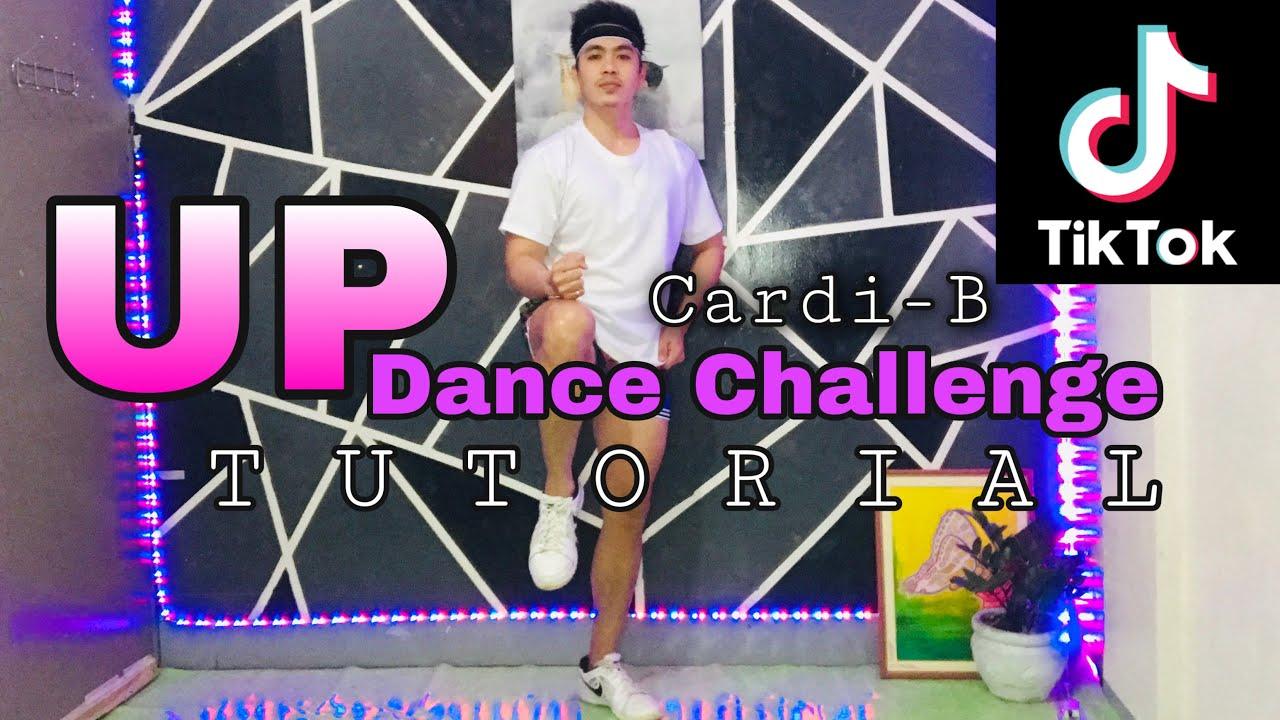 Cardi B-UP|TIKTOK DANCE TUTORIAL|DANCE GURU