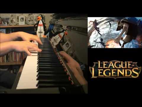 Warriors - Imagine Dragons - League Of Legends 2014  (Advanced Piano Cover)