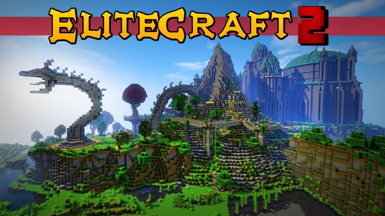 Elitecraft 2 Ep5 - TOUR POR MI BASE COMPLETO - FINAL