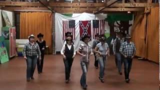 TUSH PUSH Line Dance - compte et danse