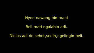 Download lagu Lirik lagu D'GO Vaspa feat Tika Dewi - Tresne Kanti Mati