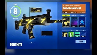 *NEW* SKINS FOR WEAPONS IN FORTNITE Battle Royale! YOU HAVE TO SEE IT!