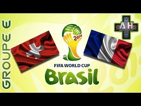 [CDM 2014] - SUISSE X FRANCE - Match Complet | Groupe E