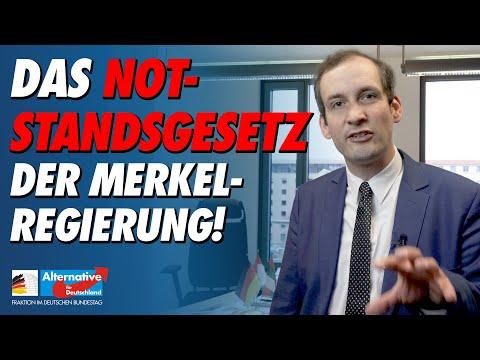 Das Notstandsgesetz der Merkel-Regierung! - Norbert Kleinwächter (AfD)