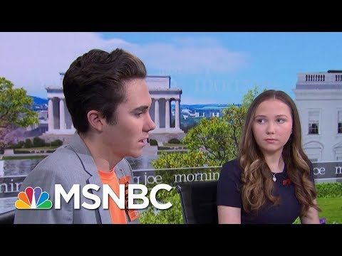 Hogg Siblings, Lauren And David, On How Activism Helps With Healing   Morning Joe   MSNBC